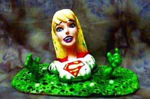 Supergirl kryptonite peril by TeenTitans4Evr