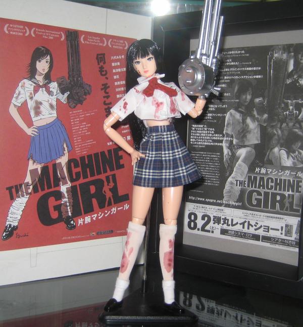 Machine Girl custom doll by TeenTitans4Evr
