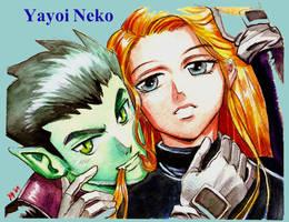Beastboy X Terra by YayoiNeko by TeenTitans4Evr