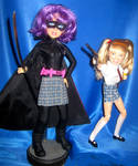 Hit Girl and Mindy KICK ASS by TeenTitans4Evr
