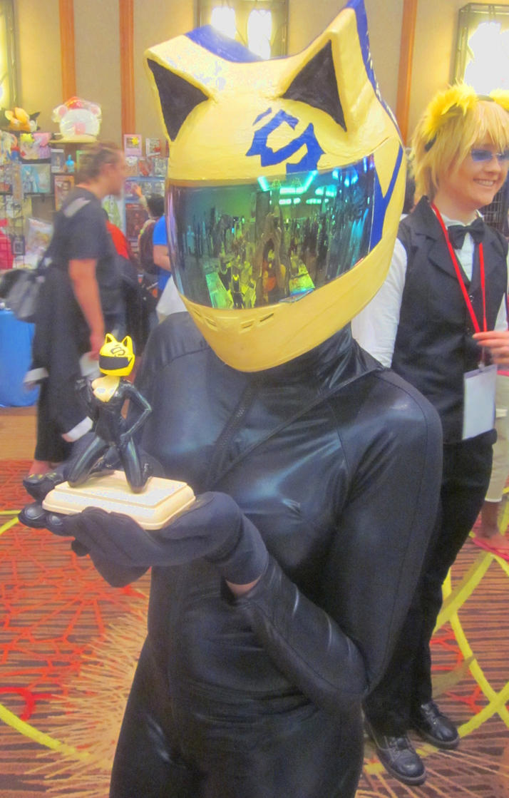 Celty cosplayer with my Celty custom by TeenTitans4Evr