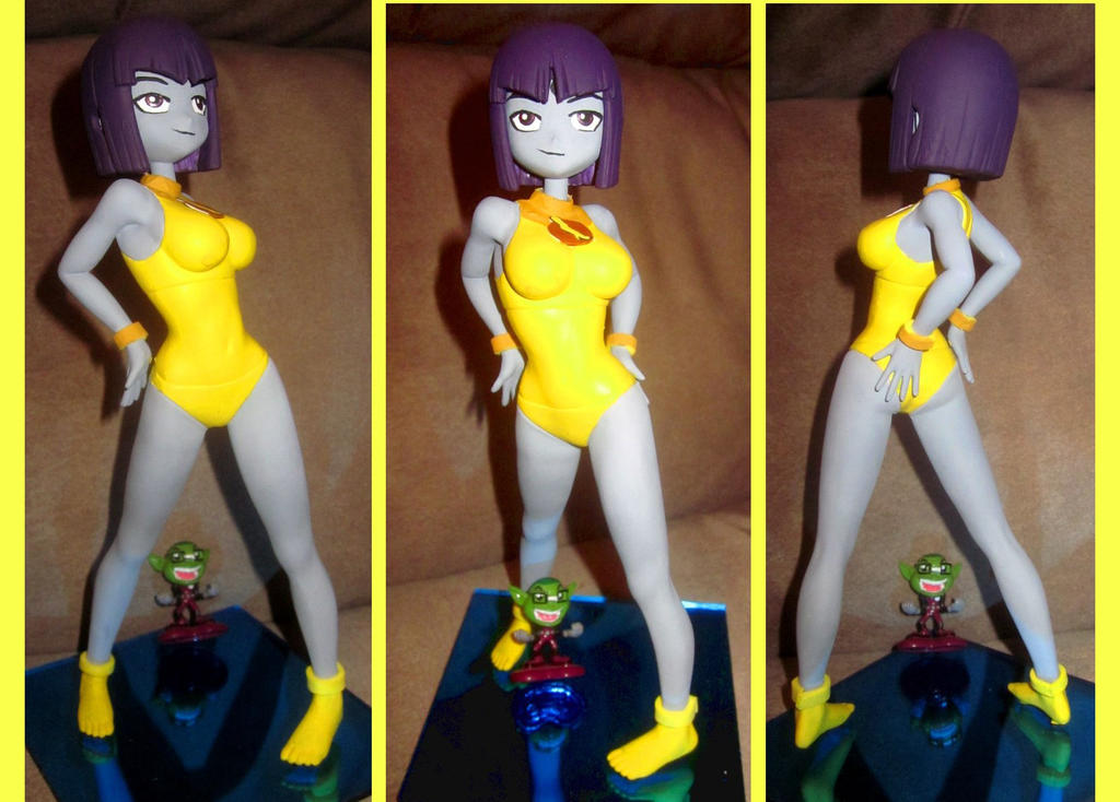 Lady Legasus Raven custom figure 2 by TeenTitans4Evr
