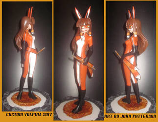 custom Miraculous Volpina statue by TeenTitans4Evr