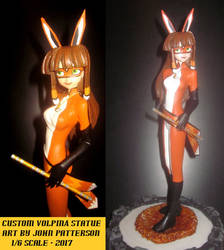 Miraculous Volpina custom figure by TeenTitans4Evr