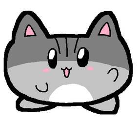 Nekomaru the round kitty