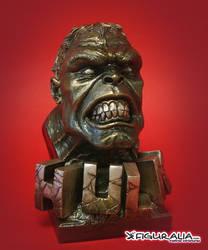 Faux Bronze Hulk by figuralia
