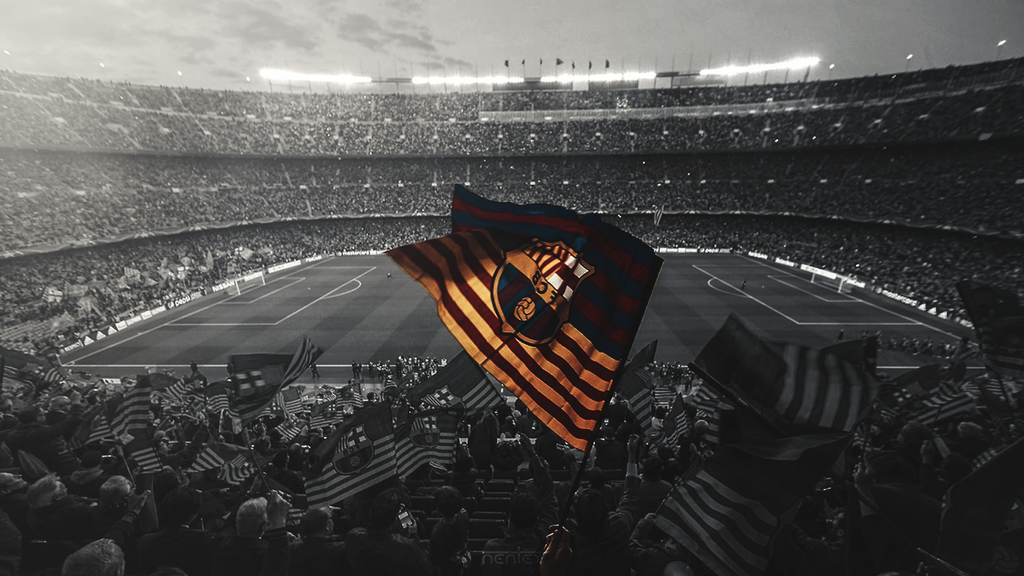 Fc Barcelona Stadium Wallpaper