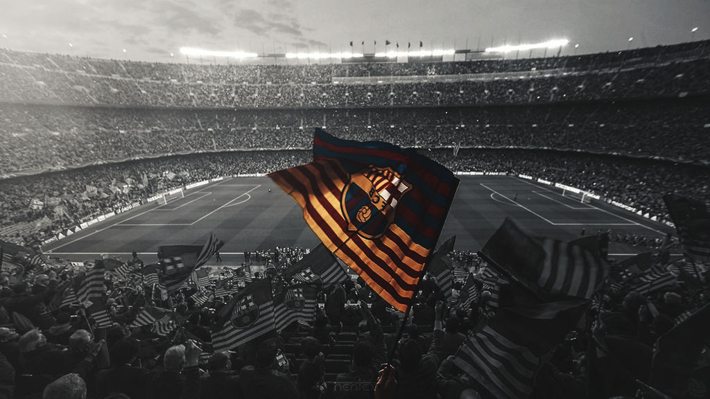 Desktop Wallpaper Fc Barcelona By Enihal On Deviantart