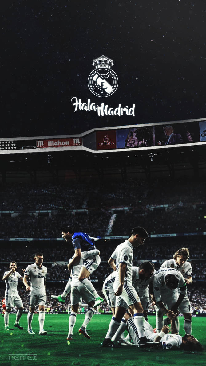 Mobile Wallpaper Real Madrid By Enihal On Deviantart