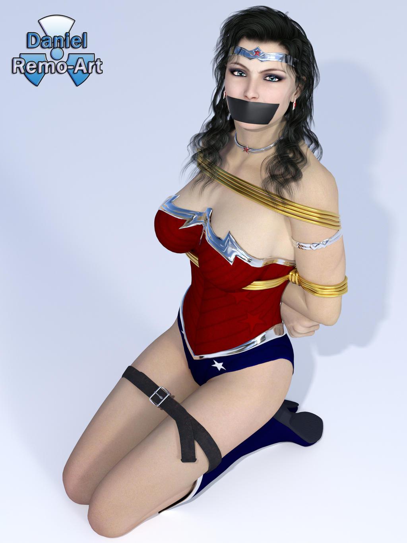 Wonder Woman Bondage Art 118