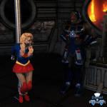 Kara Danvers Meets Darkseid