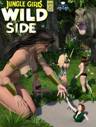 Jungle Girls of Wildside by Daniel-Remo-Art