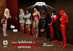 New Arkham 8 Alt Cover
