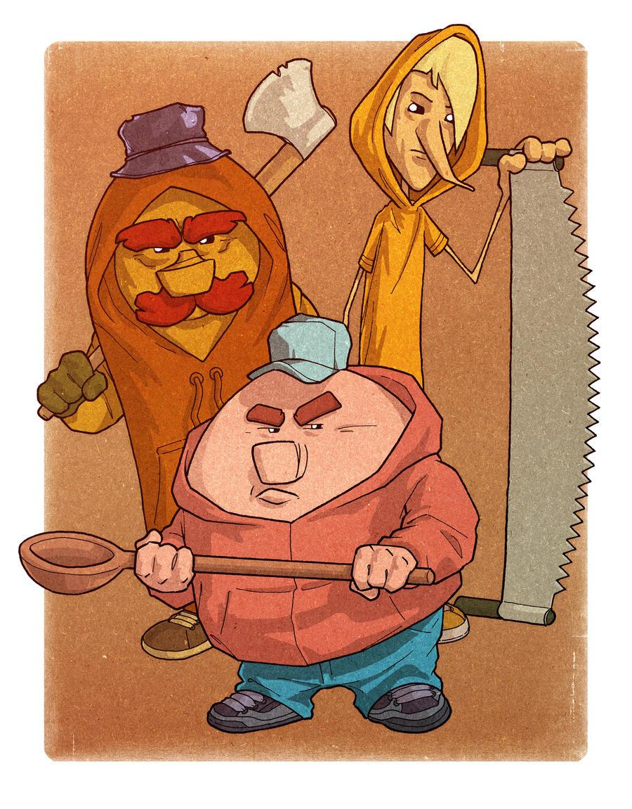 3 Lumberjacks