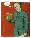 Michael Myers gets a gift.
