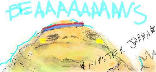 Hipster Jabba by Rutske
