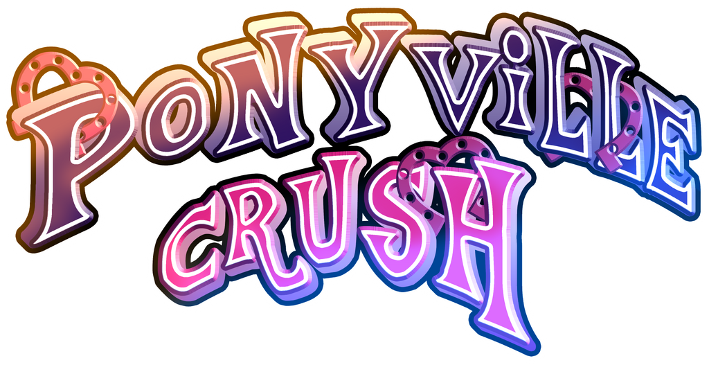 Ponyville Crush Logo by Gray--Day