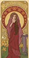 Polyhymnia- Art Nouveau poster