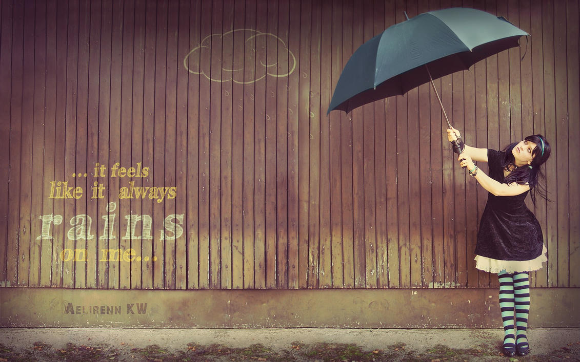 It always rains on me... by aelirenn-kw