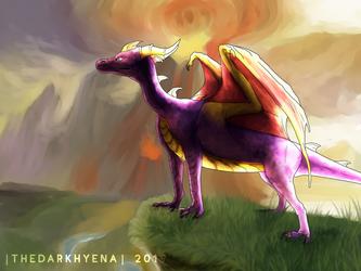 Dawn Of The Dragon by TheDarkHyena