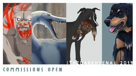 Commission are OPEN! by TheDarkHyena