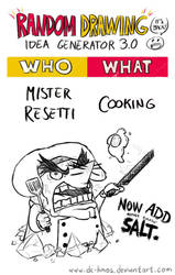 Randraw: Mister Resetti Cooking by DC-KMOS