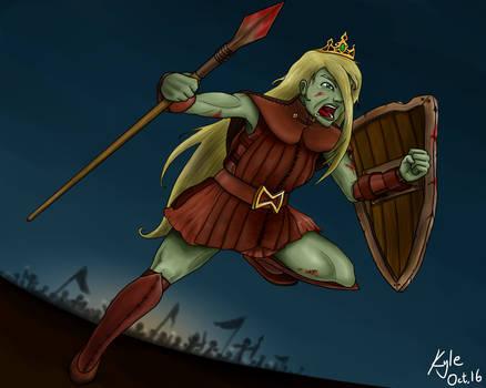 Warrior Princess - Adventure Time