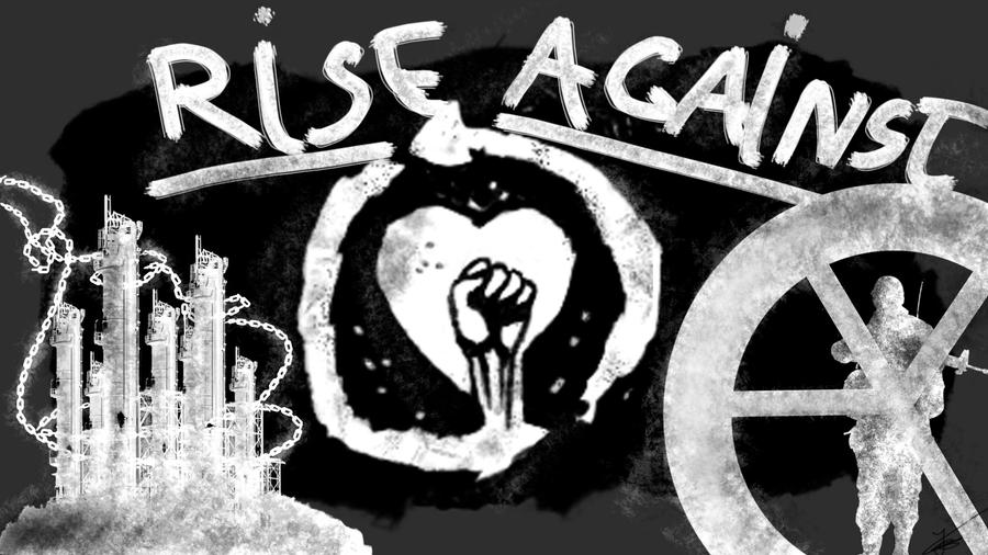 rise against wallpapers. wallpaper Rise Against logo