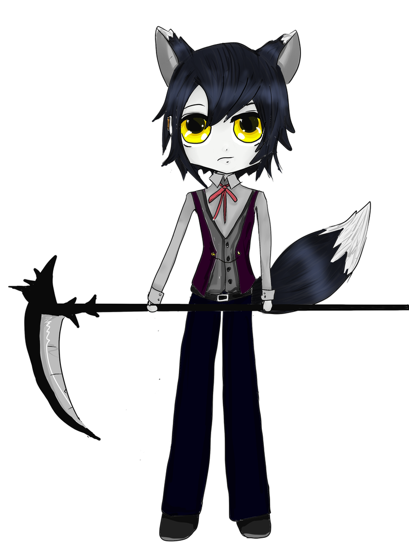 Chibi Trade Event : Thanatos by Crescent-S-Moon