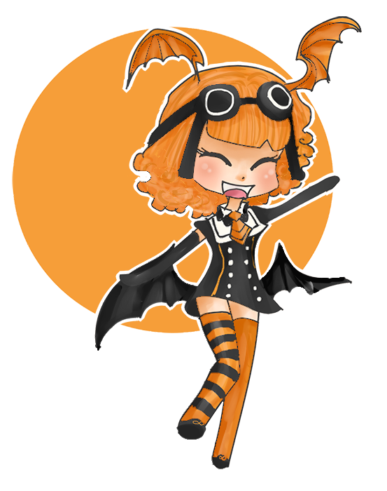 Happy October! by Crescent-S-Moon