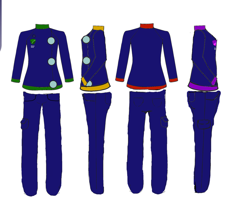 Milky Way Trading Co. Crew Uniform by Crescent-S-Moon