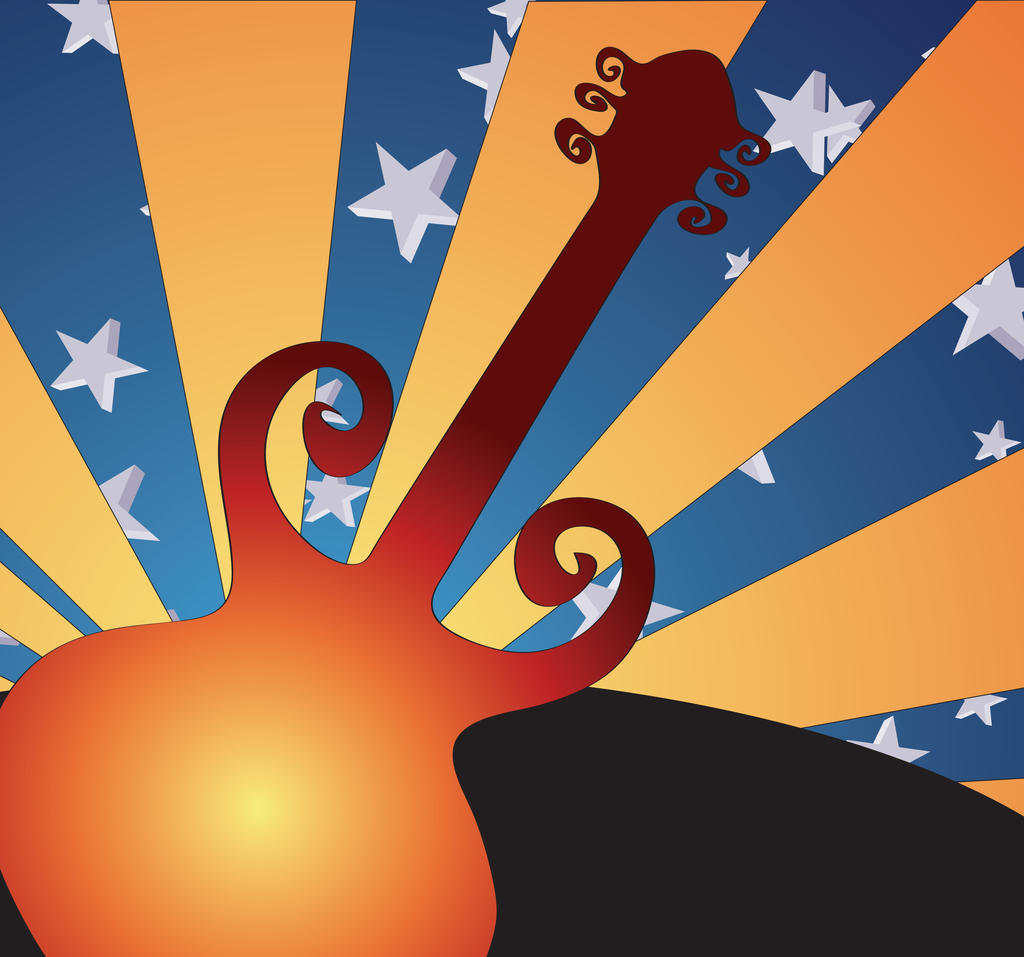 GuitarSunrise by Sularias