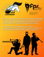 UAH Chargers Paintball by Sularias