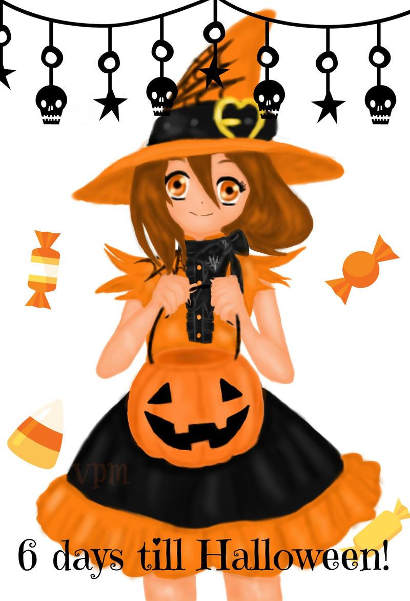 6 days till Halloween! by VampirePlayMate on DeviantArt