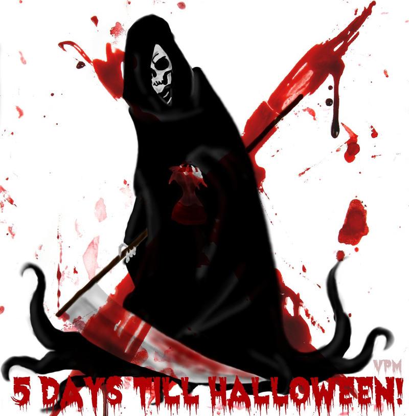 5 days till halloween! by VampirePlayMate on DeviantArt