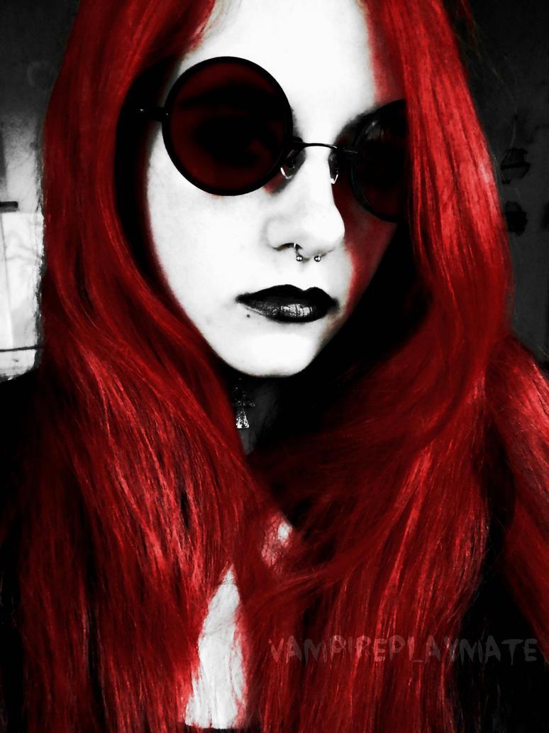 Blood Red by VampirePlayMate