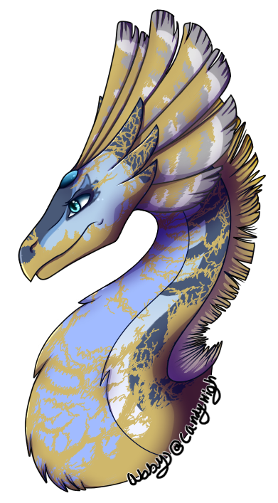 Another dragon by candyhighdraws