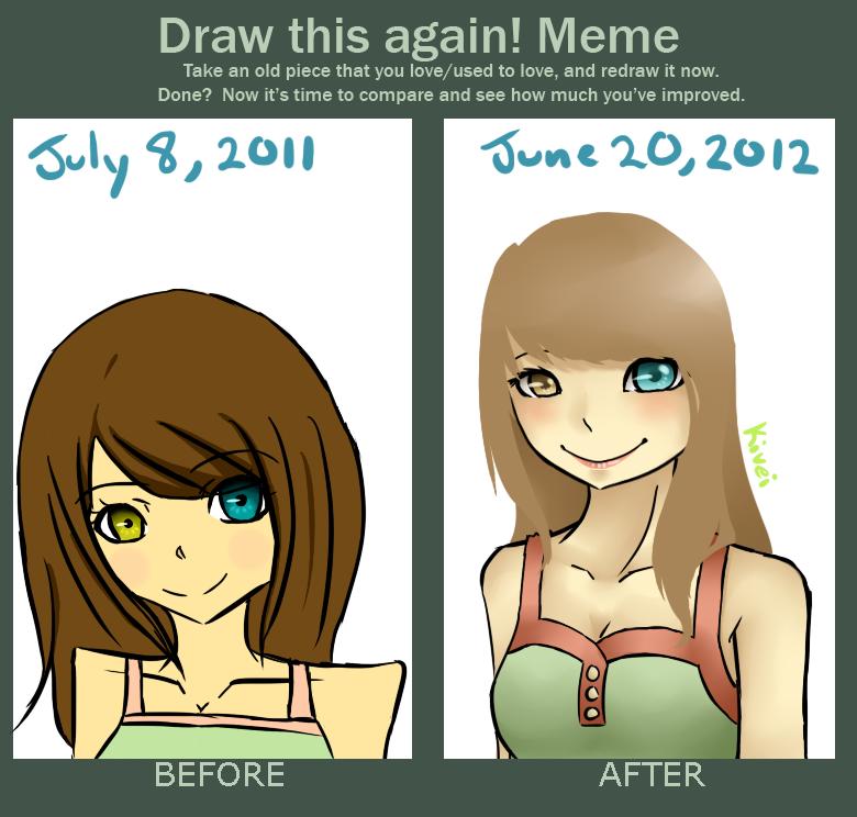 Draw this again by Kivei