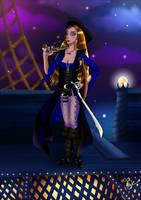 Capitaine corsaireV2 by CapitaineBlue
