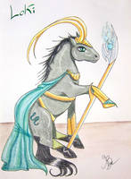 CaptainPony Loki by CapitaineBlue