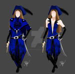 WIP 1 - Costume de Capitaine Blue by CapitaineBlue