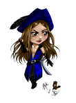 COLLAB : Chibi Capitaine Blue by CapitaineBlue