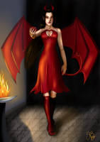 COM : Diablesse by CapitaineBlue
