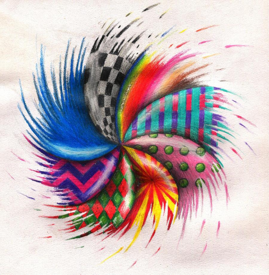 Trippy Spiral by Weed-Muffin on DeviantArt