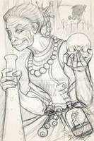 Baba Yaga Concept sketch by Ito-Saith-Webb