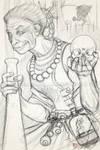Baba Yaga Concept sketch