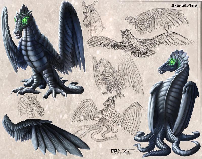 Shantak-Bird Concept by Ito-Saith-Webb
