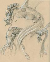 Cthulhu Sketches by Ito-Saith-Webb
