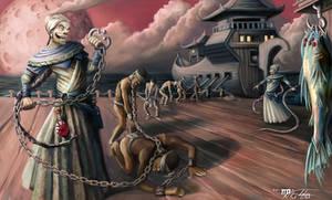 Slavers: The Men of Leng by Ito-Saith-Webb
