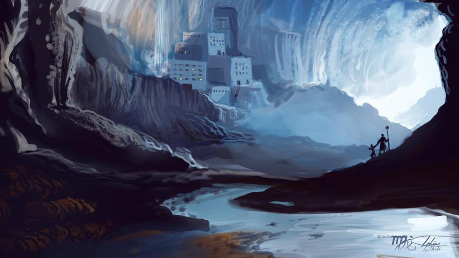 Underground City Speed Paint by Ito-Saith-Webb
